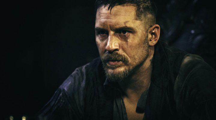 Tom Hardy caracterizado como su personaje, James Delaney, en 'Taboo'