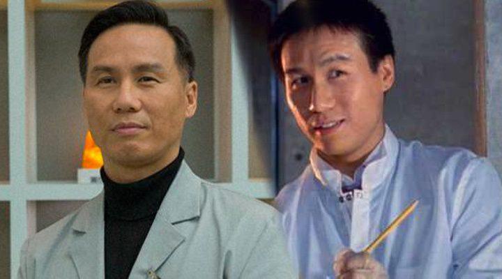 B. D. Wong como su personaje Henry Wu en 'Jurassic Park' y 'Jurassic World'