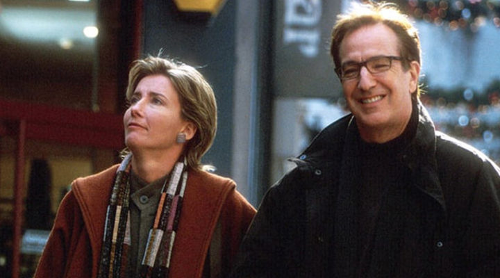 Alan Rickman en 'Love Actually'