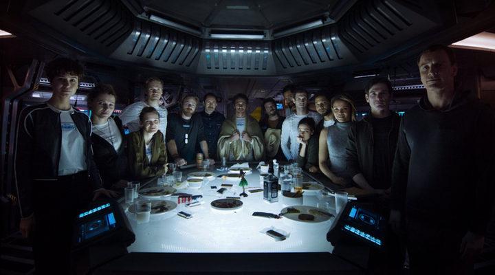 Tripulación de la nave Covenant en 'Alien: Covenant'