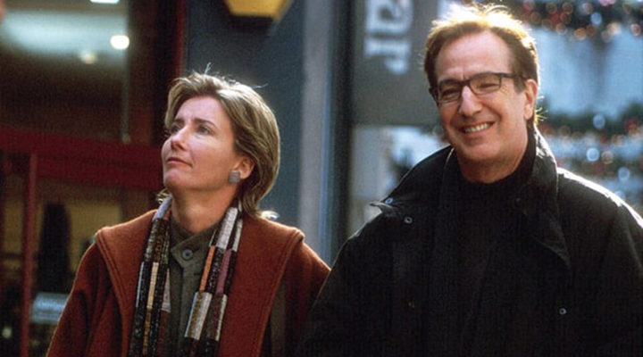 Emma Thompson y Alan Rickman en 'Love Actually'
