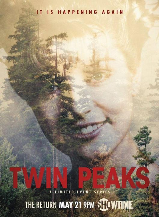 Póster 'Twin Peaks' 1