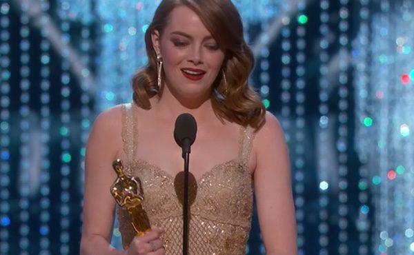 Emma Stone gana el Oscar a la Mejor Actriz