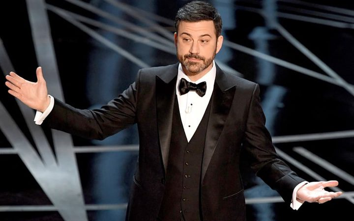 Jimmy Kimmel durante la gala