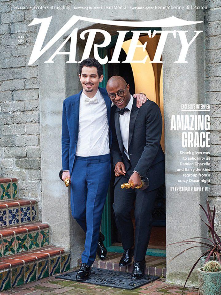 Damien Chazelle y Barry Jenkins en la portada de Variety