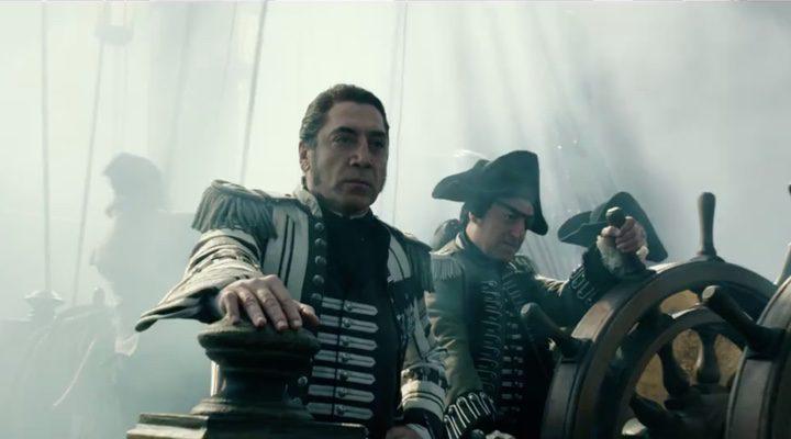 Salazar en 'Piratas del Caribe'