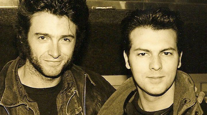 David Hayter y Patrick Stewart