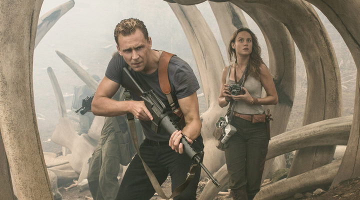Tom Hiddleston y Brie Larson