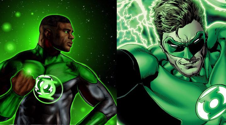 John Stewart o y Hal Jordan