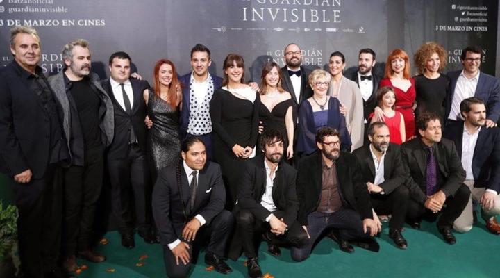 Equipo de 'El guardián invisible'
