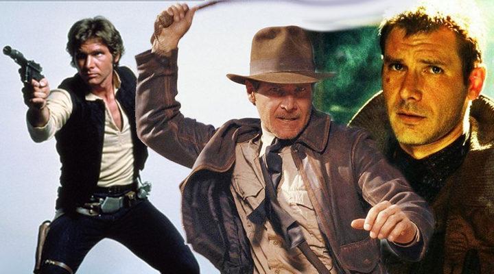 Harrison Ford como Han Solo, Indiana Jones y Rick Deckard