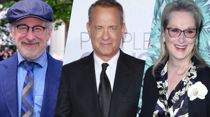 Steven Spielberg, Tom Hanks y Meryl Streep