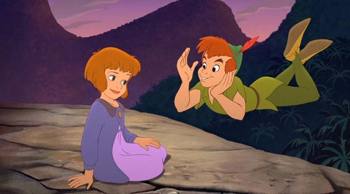 Peter Pan y Jane en 'Peter Pan en regreso al país de Nunca Jamás