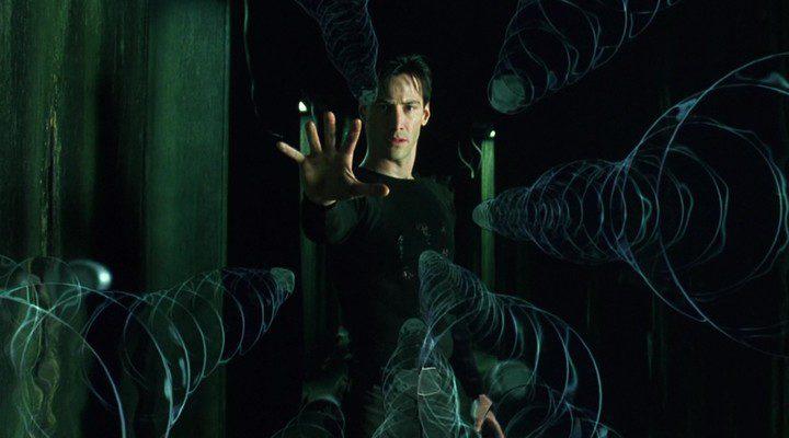 Keanu Reaves en 'Matrix'