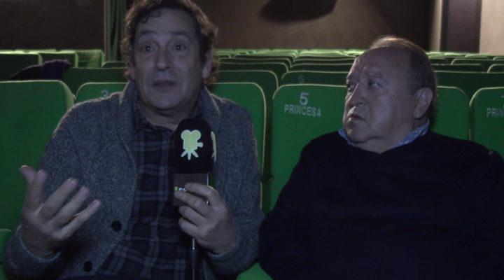 Agustí Villaronga y Fernando Esteso
