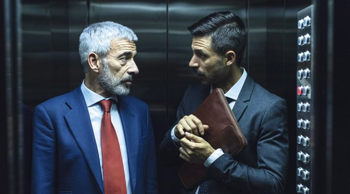 Imanol Arias y Hugo Silva en 'Despido Procedente'