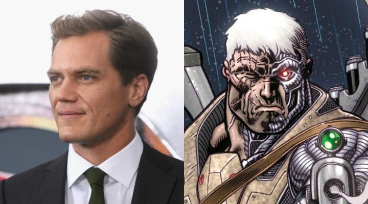 Michael Shannon y Cable
