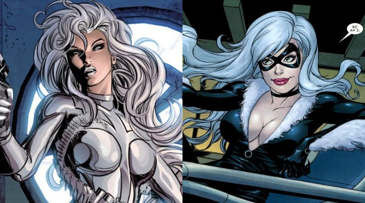 Silver Sable y Black Cat