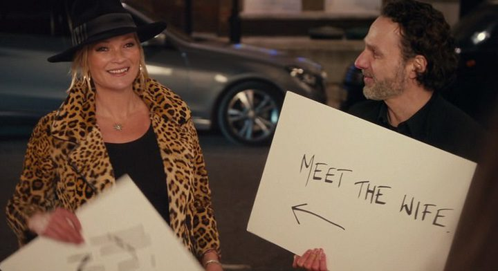 Andrew Lincoln y Kate Moss en la secuela de 'Love Actually'
