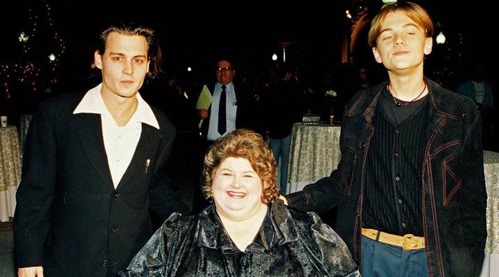 Johnny Depp, Darlene Cates y Leonardo DiCaprio