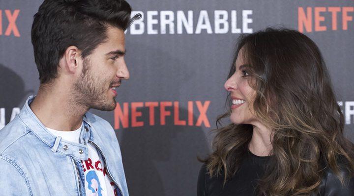 Kate del Castillo y Maxi Iglesias en la presentación de 'Ingobernable' en Madrid