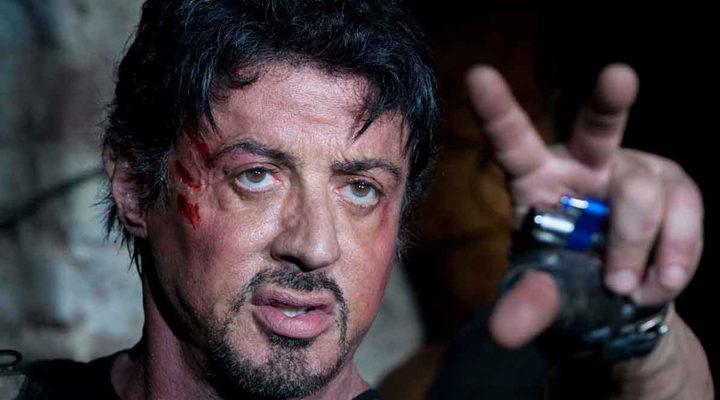 Sylvester Stallone en 'Los mercenarios'