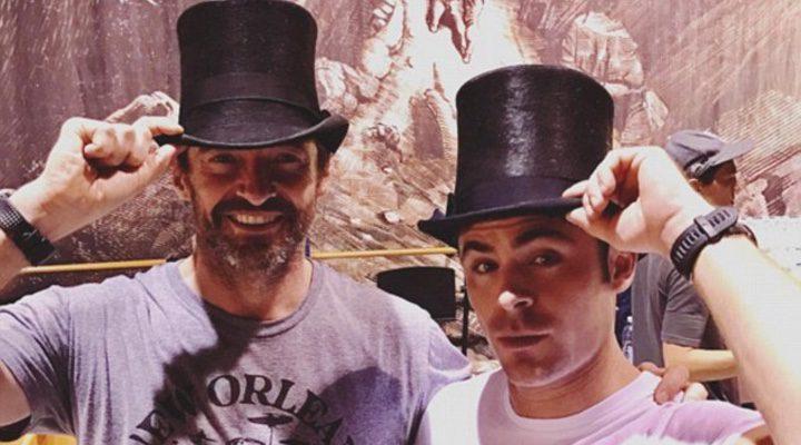 Zac Efron y Hugh Jackman
