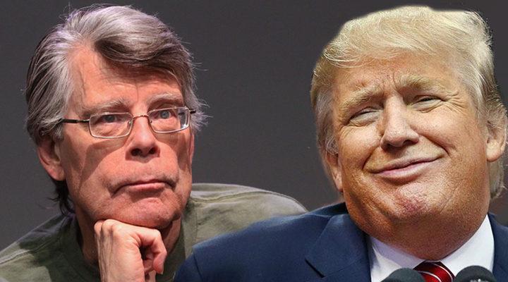 King y Donald Trump