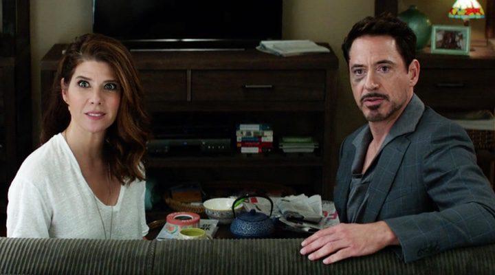 Marisa Tomei y Robert Downey Jr.