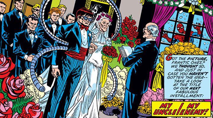 boda tía May y Doctor Octopus