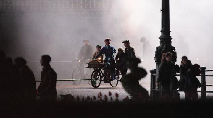 Rodaje 'El regreso de Mary Poppins' 2