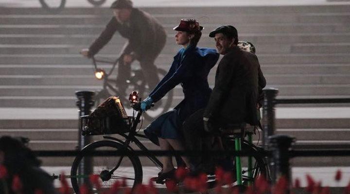 Rodaje 'El regreso de Mary Poppins' 1