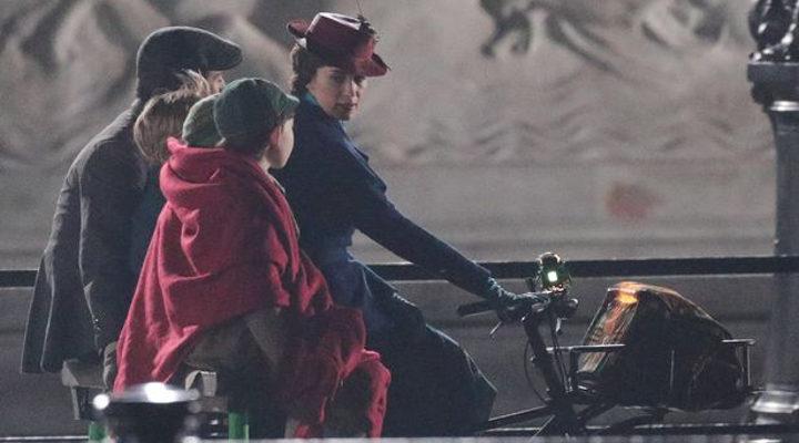 Rodaje 'El regreso de Mary Poppins' 3