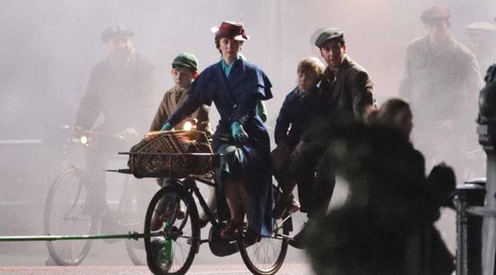 Rodaje 'El regreso de Mary Poppins' 4