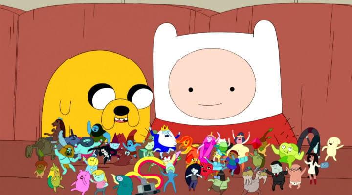 Jake y Finn, grandes amigos