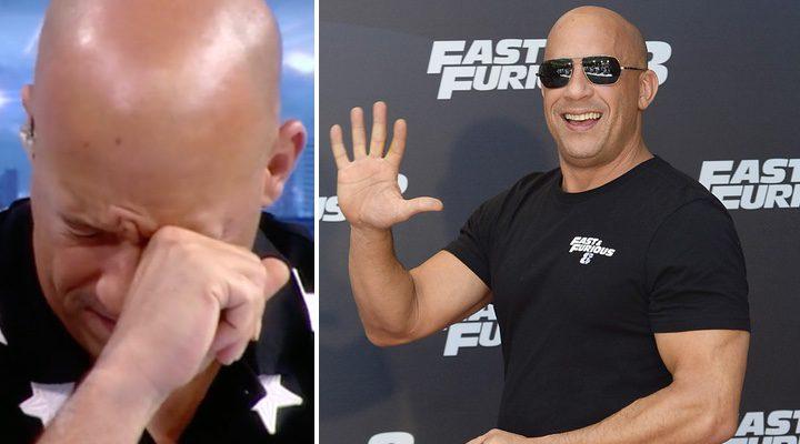 Vin Diesel en 'El Hormiguero' y durante la promoción en España de 'Fast & Furious 8'