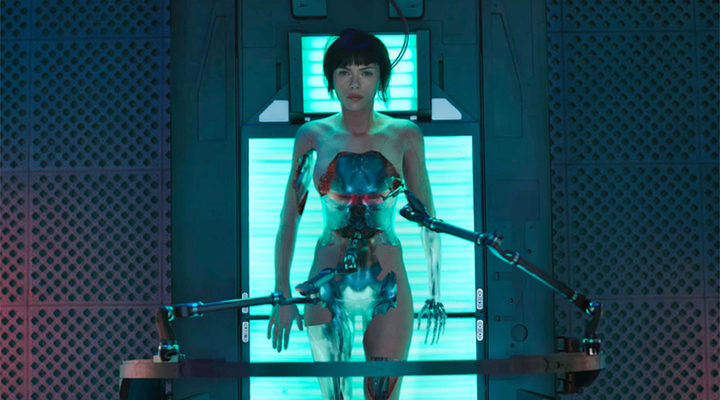 Scarlett Johansson en 'Ghost in the Shell: El alma de la máquina'