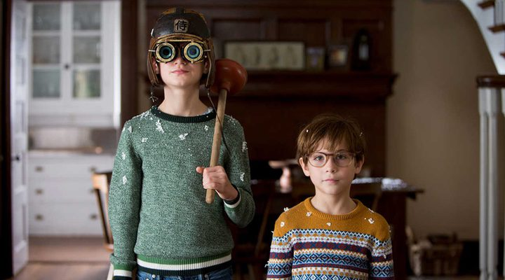 Jaeden Lieberher y Jacob Tremblay en 'The book of Henry'