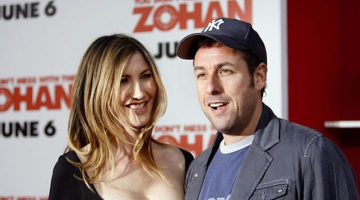 Adam Sandler y su esposa Jackie