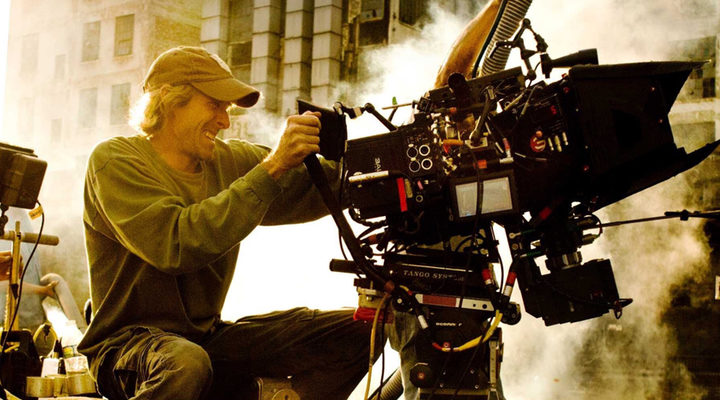 Michael Bay en el set de 'Transformers 5'