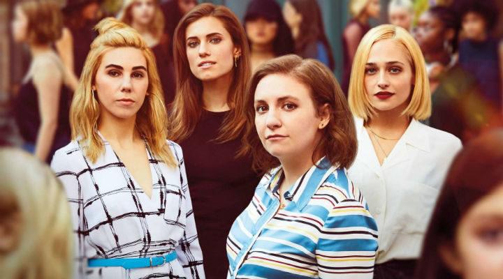 Las protagonistas de 'Girls', de chicas a mujeres