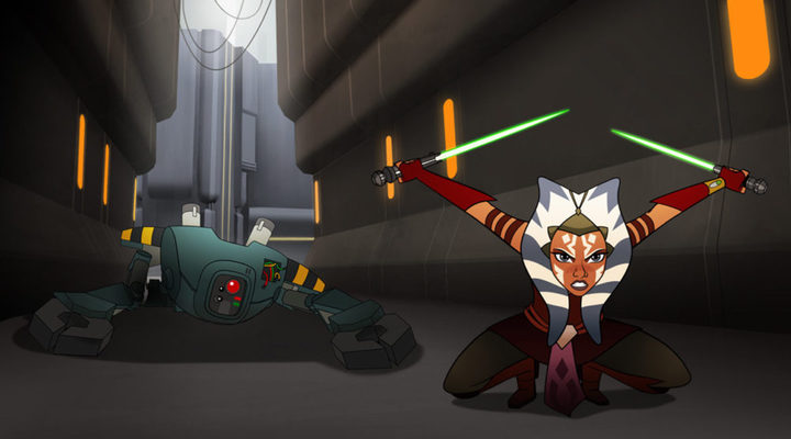 Ahsoka, 'Star Wars: Forces of Destiny'