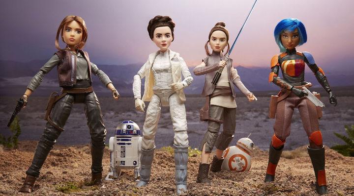 Hasbro nuevas muñecas de 'Star Wars'