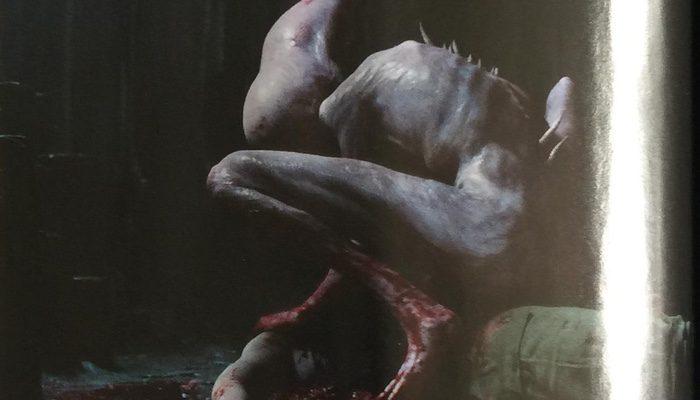 Empire publica imágenes de un alien recién nacido