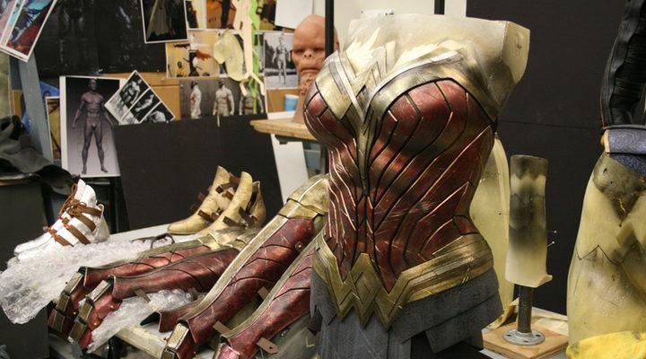 Wonder Woman traje