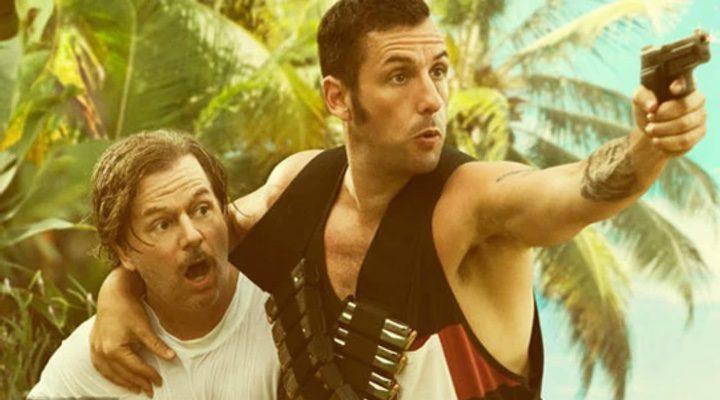 Adam Sandler junto a su compañero David Spade en la película 'The Do-Over'