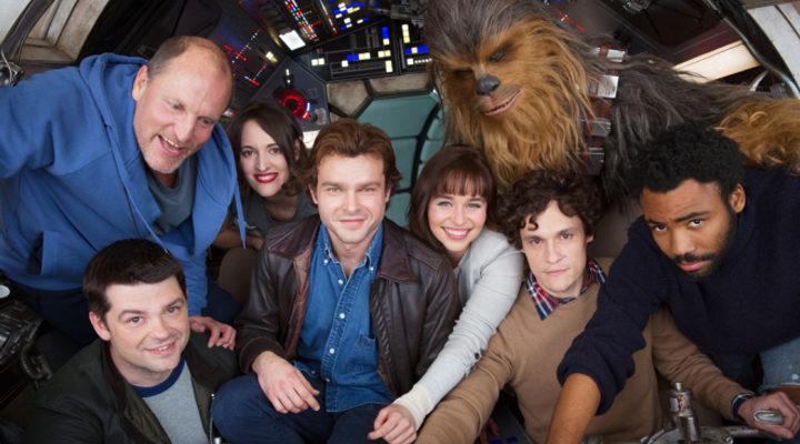 Protagonistas del spin-off de Han Solo