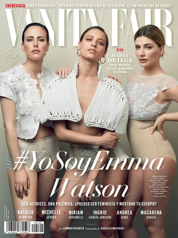 Portada mayo Vanity Fair España