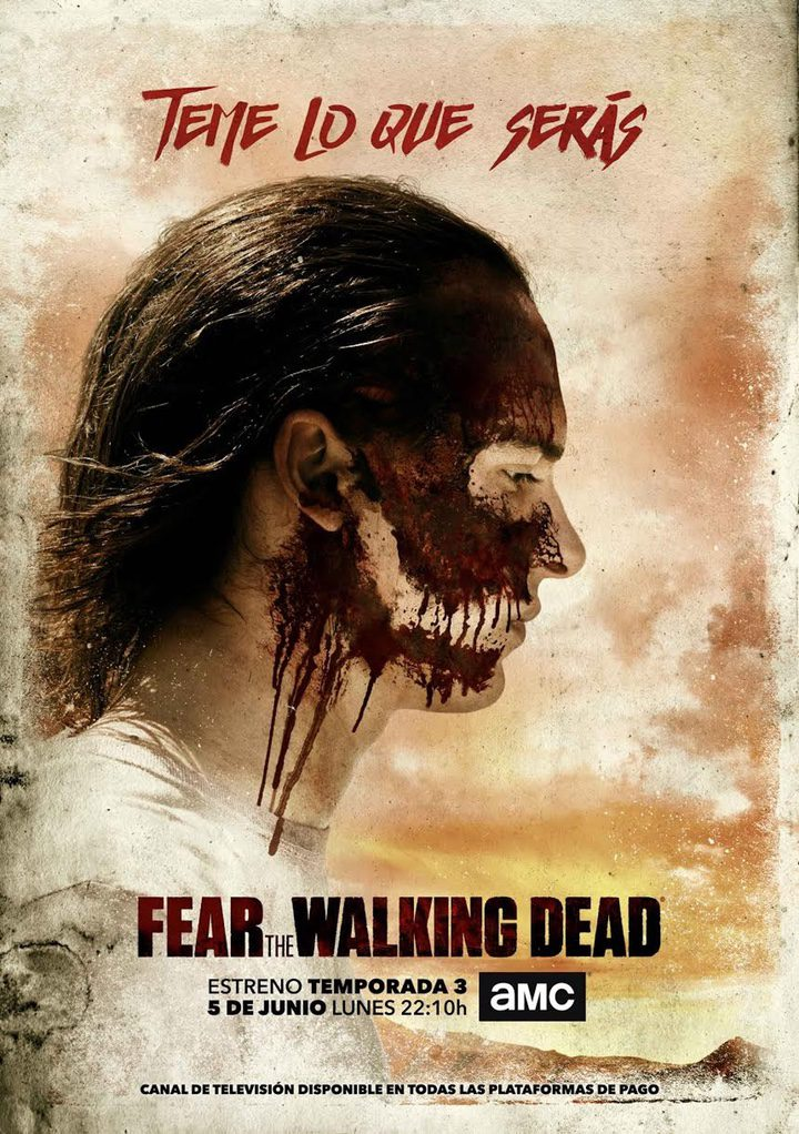 Póster oficial 'Fear the Walking Dead'