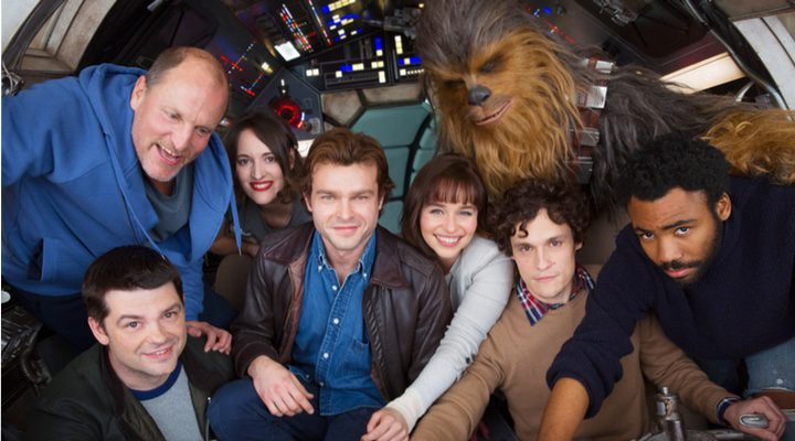 El elenco de la película 'Han Solo: A Star Wars Story